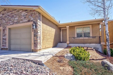 3832 Homestead Ridge Heights, Colorado Springs, CO 80917 - MLS#: 3790366