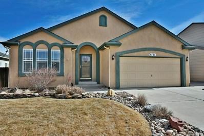 4831 Desert Varnish Drive, Colorado Springs, CO 80922 - MLS#: 3856908