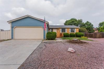 4902 Cita Drive, Colorado Springs, CO 80916 - MLS#: 3864847
