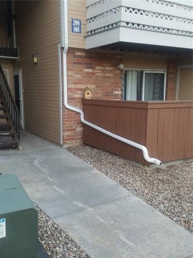 3322 S Ammons Street UNIT 108, Lakewood, CO 80227 - MLS#: 3910232