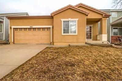 6967 W Chatfield Place, Littleton, CO 80128 - MLS#: 3911901