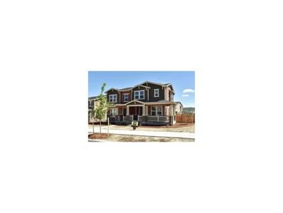 3550 Fennel Street, Castle Rock, CO 80109 - MLS#: 3922644