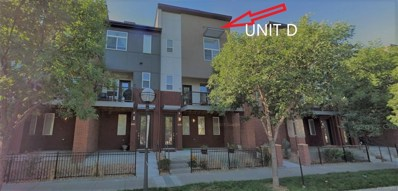 5630 W 38th Avenue UNIT D, Wheat Ridge, CO 80212 - MLS#: 3949206