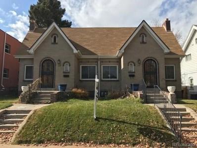 1119 & 1121 Milwaukee, Denver, CO 80206 - MLS#: 3962553