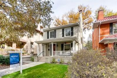 630 N Emerson Street, Denver, CO 80218 - #: 3985686