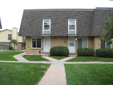 1516 S Pierson Street UNIT 99, Lakewood, CO 80232 - MLS#: 3993490