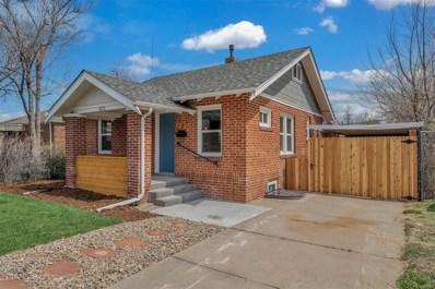 1572 Uinta Street, Denver, CO 80220 - MLS#: 3999102