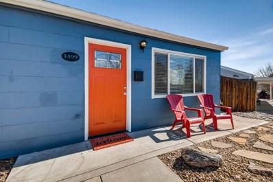 1499 W Hoye Place, Denver, CO 80223 - MLS#: 4025487
