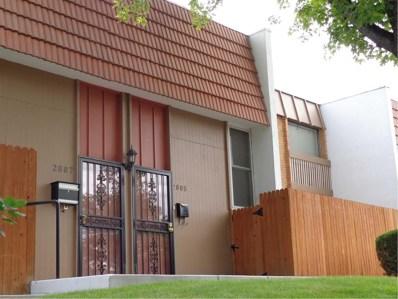 2805 S Locust Street, Denver, CO 80222 - MLS#: 4095382
