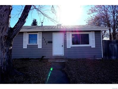 4600 W Cedar Avenue, Denver, CO 80219 - MLS#: 4129413