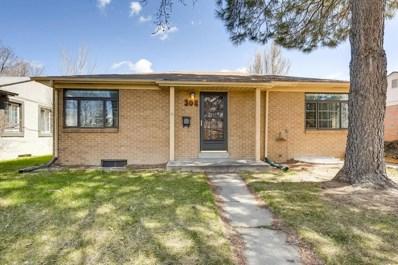 308 S Leyden Street, Denver, CO 80224 - MLS#: 4169909