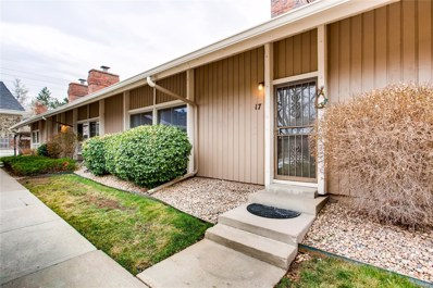 6495 E Happy Canyon Road UNIT 17, Denver, CO 80237 - MLS#: 4183776