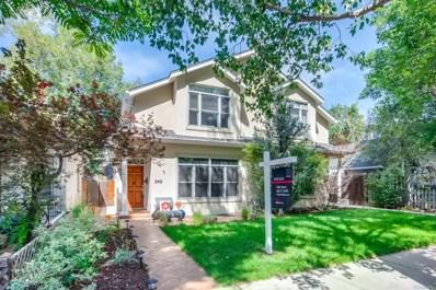 249 S Lafayette Street, Denver, CO 80209 - #: 4232307