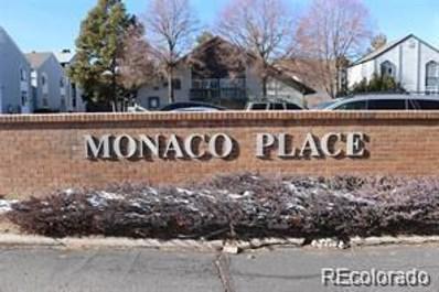 3367 S Monaco Parkway UNIT D, Denver, CO 80222 - MLS#: 4251830