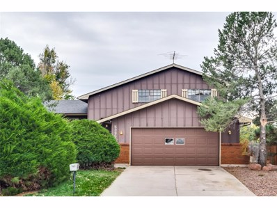 5385 Galena Drive, Colorado Springs, CO 80918 - MLS#: 4260465