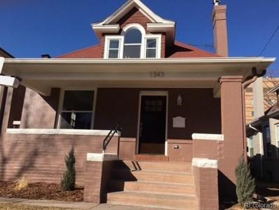 1343 Fillmore Street, Denver, CO 80206 - MLS#: 4300939