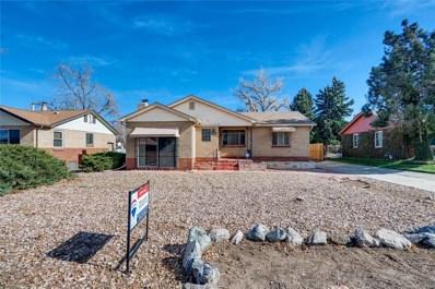 3950 Otis Street, Wheat Ridge, CO 80033 - #: 4322046