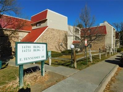 14701 E Tennessee Drive UNIT 138, Aurora, CO 80012 - MLS#: 4361482