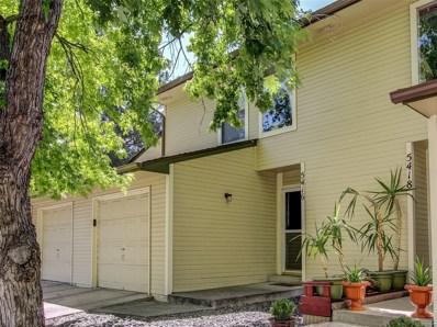 5416 W 17th Avenue, Lakewood, CO 80214 - MLS#: 4392088