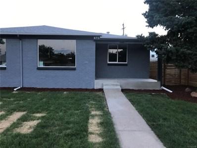 475 S Eliot Street, Denver, CO 80219 - MLS#: 4398888