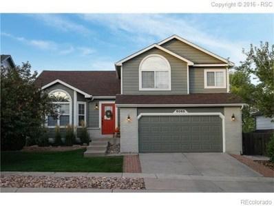 6065 Wheatgrass Drive, Colorado Springs, CO 80923 - #: 4423382