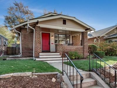 554 S Emerson Street, Denver, CO 80209 - MLS#: 4481991