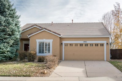 4941 Collingswood Drive, Highlands Ranch, CO 80130 - MLS#: 4537630