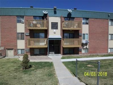 5995 W Hampden Avenue UNIT G11, Denver, CO 80227 - MLS#: 4551018
