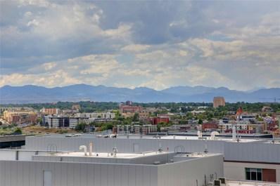 1750 Wewatta Street UNIT 1729, Denver, CO 80202 - MLS#: 4551682