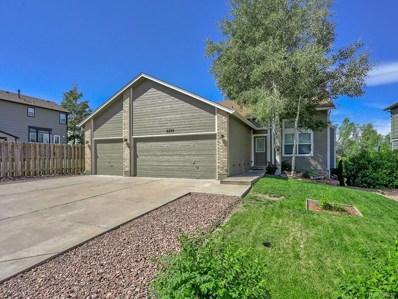 6280 Oakwood Boulevard, Colorado Springs, CO 80923 - #: 4556965