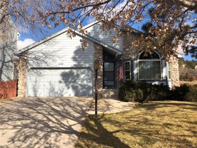 1122 Dancing Horse Drive, Colorado Springs, CO 80919 - MLS#: 4620304