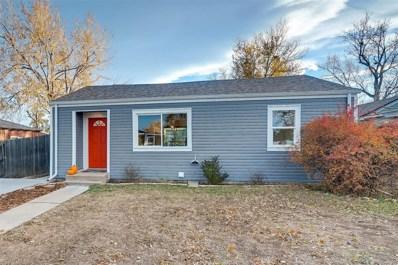 1860 W 51st Avenue, Denver, CO 80221 - #: 4699051