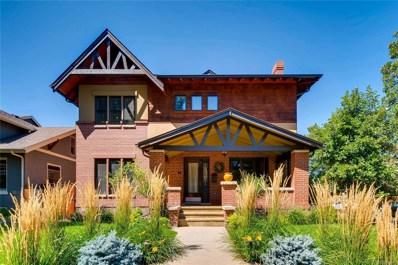 1101 S York Street, Denver, CO 80210 - MLS#: 4746708
