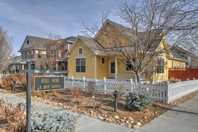 8081 E 26th Avenue, Denver, CO 80238 - MLS#: 4765315