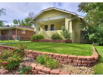 3831 Osceola Street, Denver, CO 80212 - MLS#: 4848623