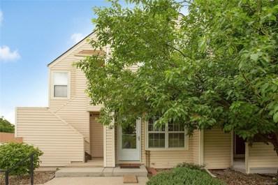 999 S Miller Street UNIT 102, Lakewood, CO 80226 - MLS#: 4848819