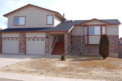 8105 Sedgewick Drive, Colorado Springs, CO 80925 - MLS#: 4858450