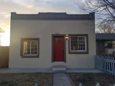4121 Steele Street, Denver, CO 80216 - MLS#: 4881110