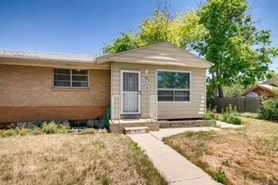 7676 Zane Street, Denver, CO 80221 - MLS#: 4912863