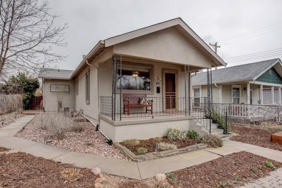 411 S Cedar Street, Colorado Springs, CO 80903 - MLS#: 5023150