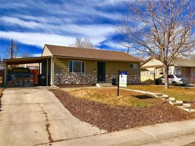 463 S Xavier Street, Denver, CO 80219 - MLS#: 5039756