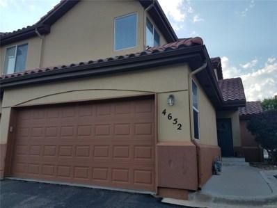 4652 S Abilene Circle, Aurora, CO 80015 - MLS#: 5043207