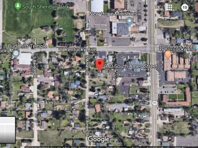 940 S Ames Street, Lakewood, CO 80226 - #: 5047310