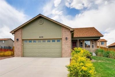 8430 Sedgewick Drive, Colorado Springs, CO 80925 - MLS#: 5128322