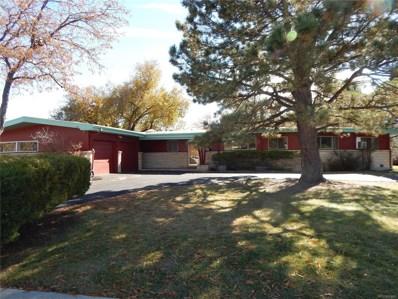 525 Comanche Drive, Colorado Springs, CO 80905 - MLS#: 5304306