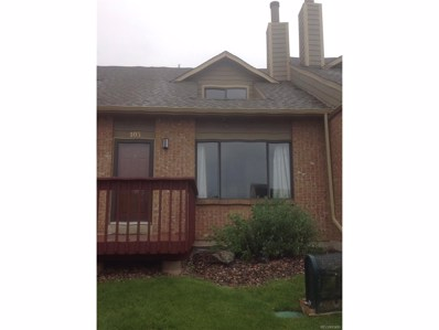 10654 W 63rd Place UNIT 103, Arvada, CO 80004 - MLS#: 5441013