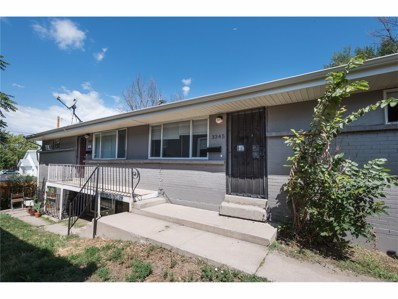 3345 N Fillmore Street, Denver, CO 80205 - MLS#: 5471981