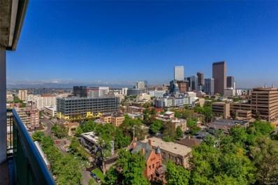 550 E 12th Avenue UNIT 1608, Denver, CO 80203 - MLS#: 5510622