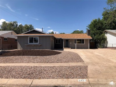 3421 Greenwood Circle, Colorado Springs, CO 80910 - MLS#: 5523449