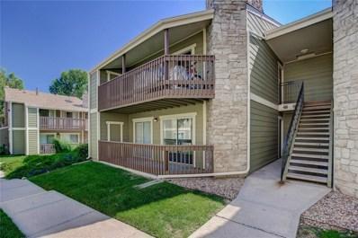 3450 S Eagle Street UNIT 102, Aurora, CO 80014 - MLS#: 5528971